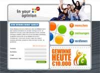 Screenshot Internetseite myiyo.com