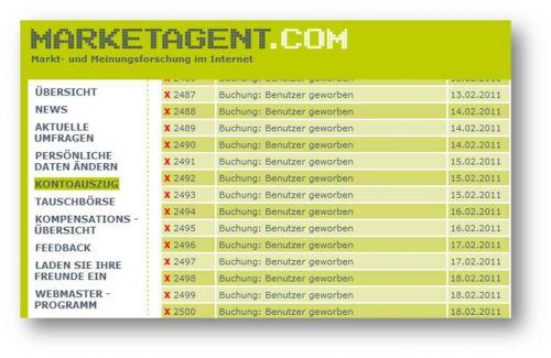 Top-Zahl: 2.500 Anmeldungen bei Marketagent.com über Umfrage4mat.de