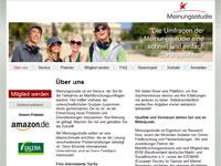 Screenshot Meinungsstudie.de