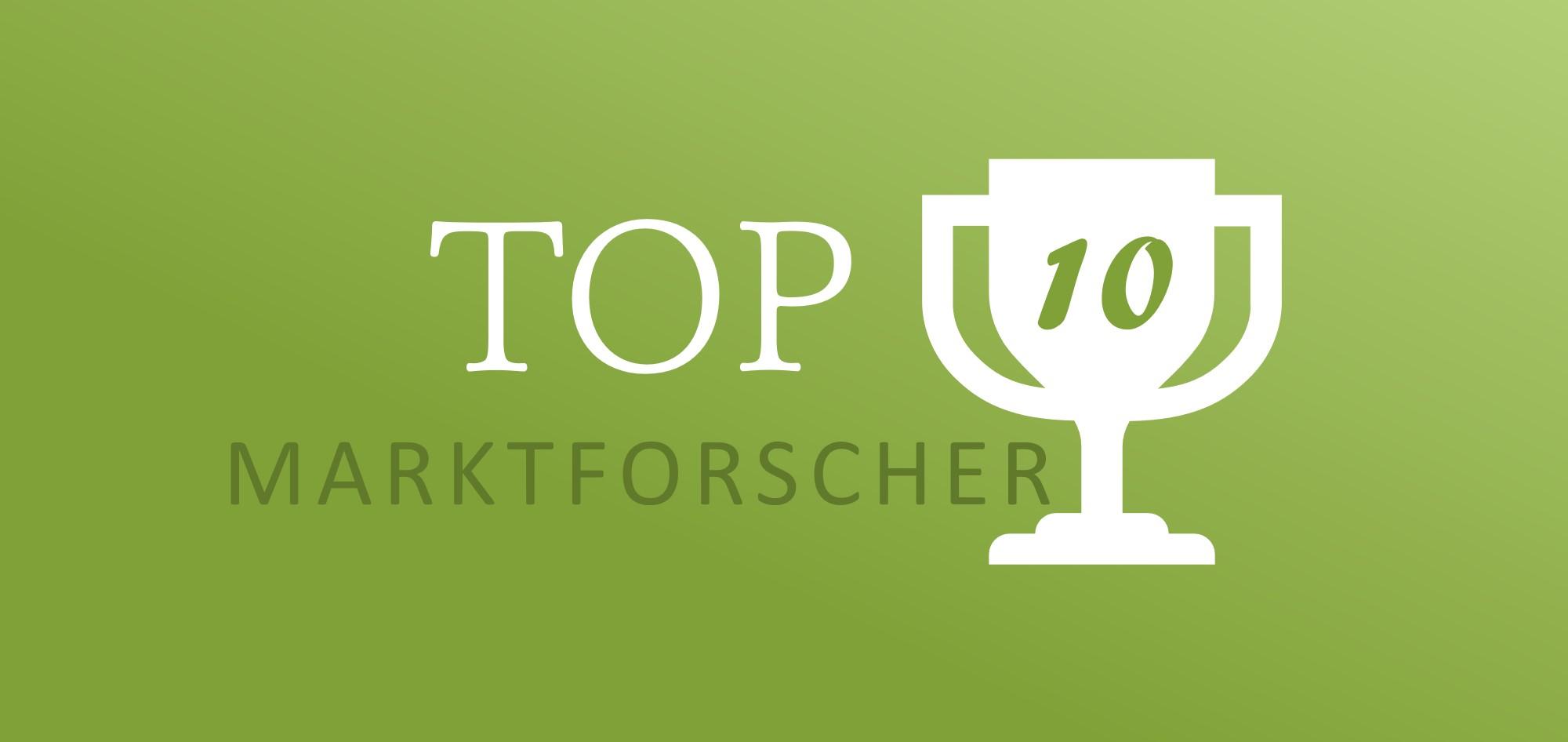 aktuelle TOP10 Marktforscher von Umfrage4mat.de