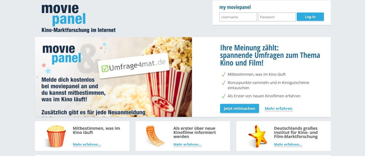 moviepanel.de Screenshot 2020 - Mitbestimmen was im Kino läuft